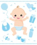 Bebé ilustração royalty free