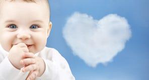 Bebé adorable Fotografía de archivo