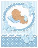 Bebé africano durmiente Imágenes de archivo libres de regalías