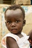 Bebé africano en Ghana Foto de archivo