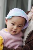 Bebé al champú Fotos de archivo