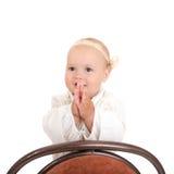 Bebé alegre Fotografía de archivo