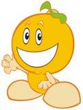 Bebé anaranjado Imagenes de archivo