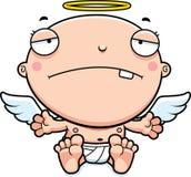 Bebé Angel Sad de la historieta Fotos de archivo libres de regalías