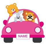 Bebé. animais do carro Imagens de Stock Royalty Free