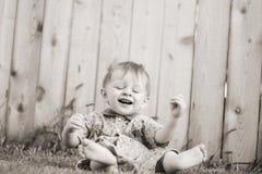 Bebé ao ar livre Foto de Stock
