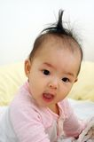 Bebé asiático lindo Foto de archivo