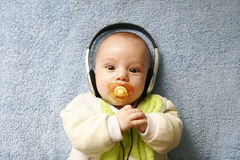 Bebé bonito Imagem de Stock Royalty Free