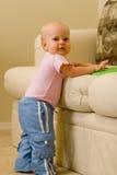 Bebé calvo Imagen de archivo