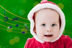 Bebé cantante Fotos de archivo