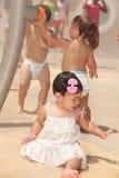 Bebé com irmãos Foto de Stock Royalty Free