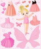 Bebé com vestidos diferentes Fotos de Stock Royalty Free