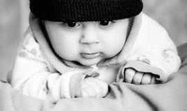 Bebé con el sombrero Imagenes de archivo