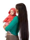 Bebé con la mama Imágenes de archivo libres de regalías