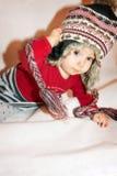 Bebé con la taza Fotografía de archivo