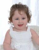 Bebé con los ojos azules imagen de archivo libre de regalías
