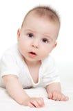 Bebé confuso Fotografía de archivo libre de regalías