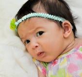 Bebé curioso Foto de archivo libre de regalías