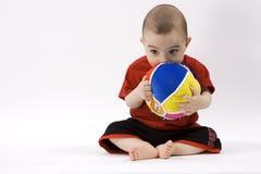 Bebé curioso Fotos de archivo