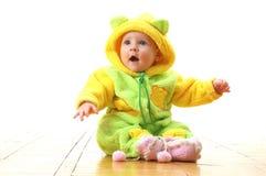 Bebé dado una sacudida eléctrica Fotografía de archivo libre de regalías
