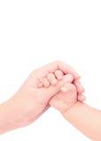 Bebé de común acuerdo del amor Fotos de archivo