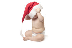 Bebé de Cristmas Fotografía de archivo