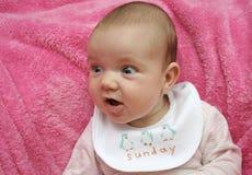 Bebé de domingo foto de archivo