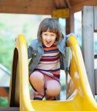 Bebé de dos años de risa Imágenes de archivo libres de regalías