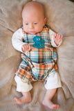 Bebé de Figiting Fotos de archivo