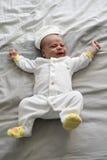 Bebé de grito Fotografia de Stock