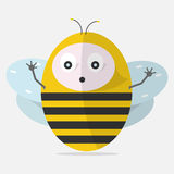 Bebé de la abeja Foto de archivo