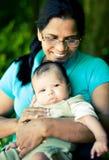 Bebé de la abuela Imagenes de archivo