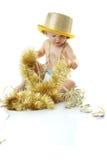 Bebé de la Feliz Año Nuevo Fotos de archivo libres de regalías