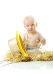 Bebé de la Feliz Año Nuevo Foto de archivo