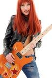 Bebé de la guitarra foto de archivo libre de regalías
