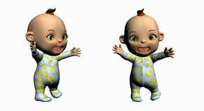 Bebé de la historieta stock de ilustración