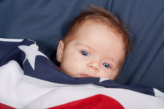 Bebé de la independencia Imagen de archivo libre de regalías