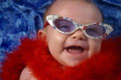Bebé de la manera fotografía de archivo libre de regalías