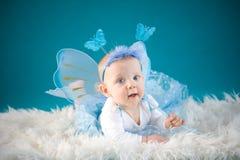 Bebé de la mariposa Fotos de archivo