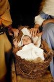 Bebé de la Navidad Fotografía de archivo libre de regalías