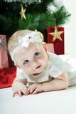 Bebé de la Navidad Foto de archivo