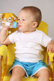 Bebé de la pinta Foto de archivo libre de regalías
