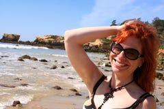 Bebé de la playa fotos de archivo libres de regalías