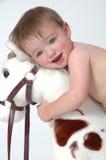 Bebé de la sorpresa Fotografía de archivo libre de regalías