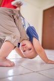 Bebé de la yoga Fotografía de archivo