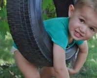 Bebé de los días de verano Imagen de archivo