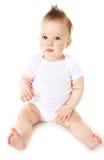 Bebé de pensamento Fotos de Stock