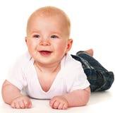 Bebé de risa Imágenes de archivo libres de regalías