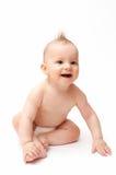 Bebé de risa Imagen de archivo libre de regalías