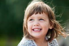 Bebé de riso Imagem de Stock
